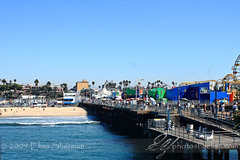 Santa Monica pier by Elisa Sherman   photosbyelisa.com