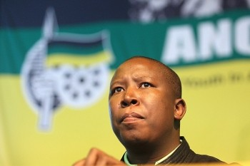 South African ruling party youth league president Julius Malema has reiterated the call for the nationalisation of industries inside the country. by Pan-African News Wire File Photos