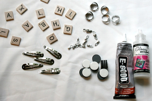 How to Make Scrabble Tile Magnets