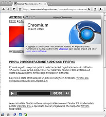 Mac Chromium 4.0.222.5 - Ogg support