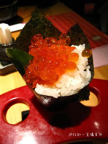 丸大食堂鮭魚卵手捲