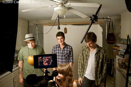 Emily Moore Band in Harveys Kitchen, Monkeywhale Productions