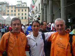 Monica alla Maratona di Lucca 2009