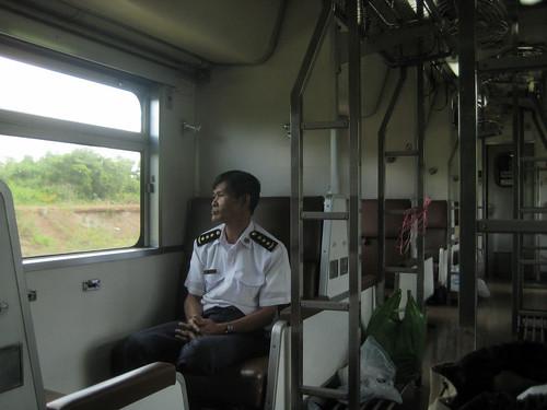 Train to Laos