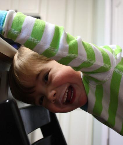 Happy Stripey Boy