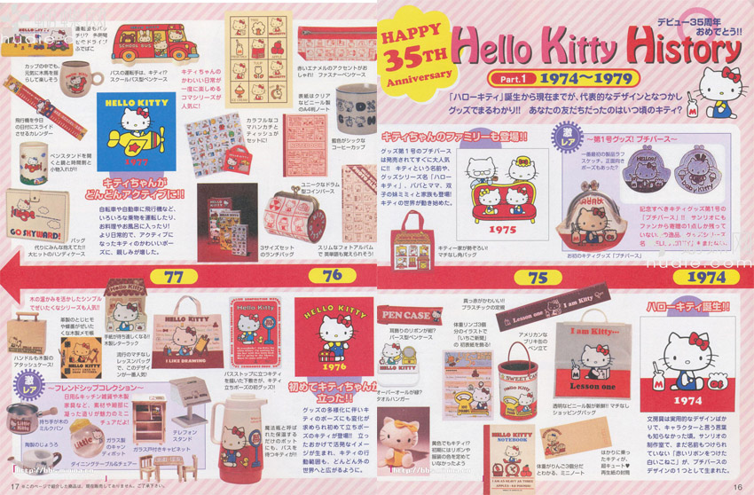 Hello kitty 74-77