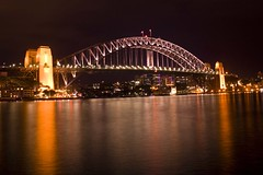 Sydney Harbour Bridge - Night