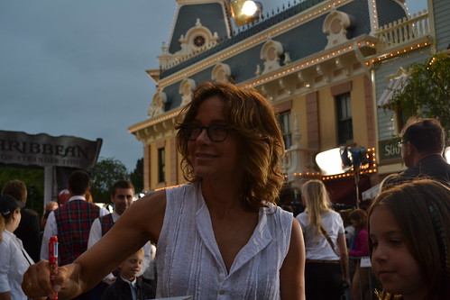 Jennifer Grey on the Pirates of the Caribbean: On Stranger Tides Black Carpet