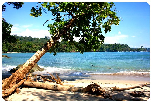 Manuel Antonio beach in National Park