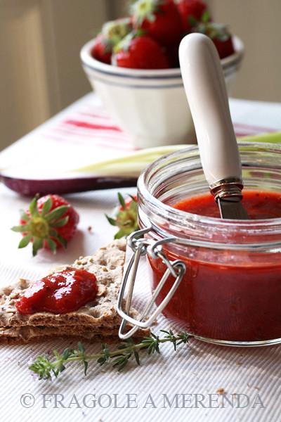 fragole & peperoni dip