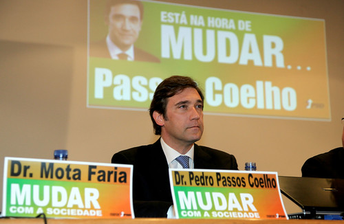 -Pedro Passos Coelho no encerramento do Congresso Distrital do PSD-Viseu