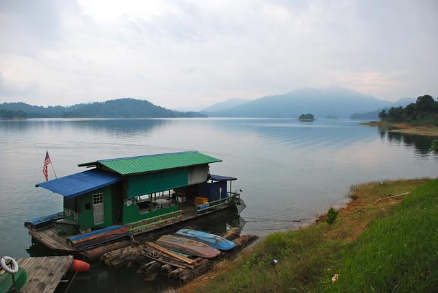 Malaysia - Terengganu - Tasik Kenyir - Pengkalan Pot Gawi