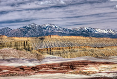 This is Utah No. 11 - Capital Reefs Rocks of Many Colors (Wizard of Wonders) Tags: sky usa snow canada mountains color beautiful weather utah sand sandstone colorful bc stones scenic peaceful surrey valley ripples redrock sands capitalreef yellowrock purplerock cloudsrock landscapenationalpark