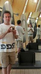 four times (diwan) Tags: city reflection canon germany geotagged deutschland mirror spiegel powershot magdeburg spiegelung kamera thisisme selfie selbstportrt diwan 2011 saxonyanhalt sachsenanhalt  canonpowershotsx210is geo:lon=11666102 geo:lat=52138774