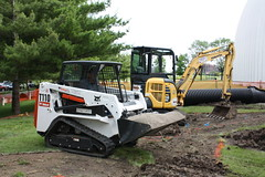 These machines are great because they work well in confined spaces. (cosiscience) Tags: cosi outdoorgarden centerofscienceandindustry bigmachines picnicpark