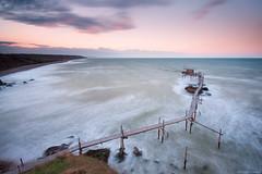 On The Edge (Corsaro078) Tags: longexposure sea costa seascape landscape coast mare paesaggio vasto trabocchi puntaaderci