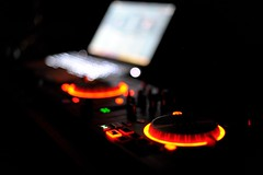 Night Life (HypoX) Tags: dof bokeh night light music dance djmixer nightlife 50mm