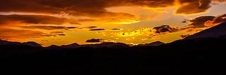 Rannoch Golden Sunset