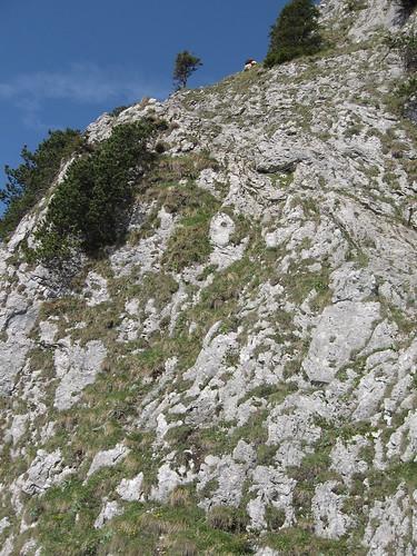 Klettersteig auf das Ettaler Mandl