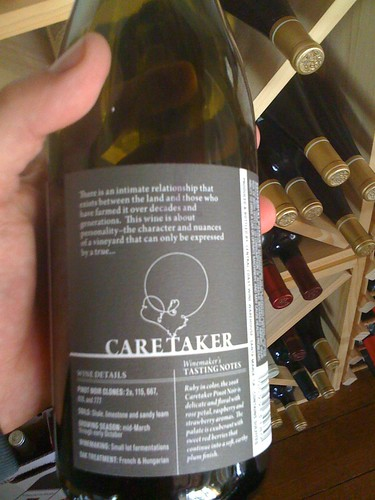 2008 Caretaker Pinot Noir