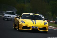 Ferrari 430 Scuderia Novitec Rosso (Adam van Noort) Tags: adam canon germany eos ferrari ring 5d van rosso 70200 scuderia f28 ef 430 nordschleife novitec hanseat noort nurnburgring