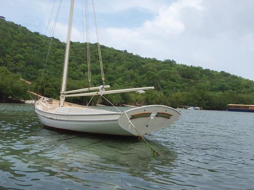 Local boat