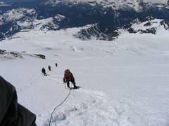 Ascending the upper slopes (10,000 ft)