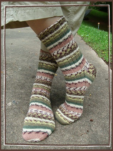 finished sockina sockens