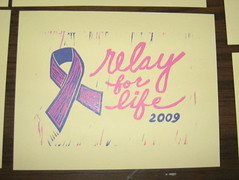 Relay for Life Print