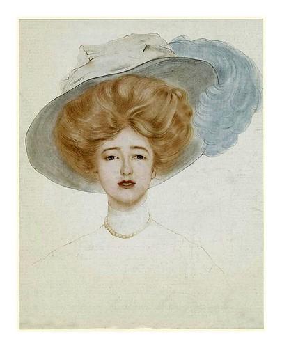019- Sombrero de mujer 1908