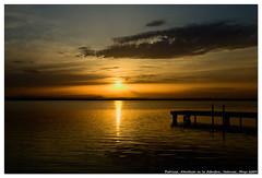 atardecer en la Albucera (un mar en calma) Tags: color valencia atardecer pentax espaa albucera