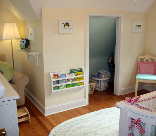 Small Nurseries Did Anyone Remove Closet Door The Bump