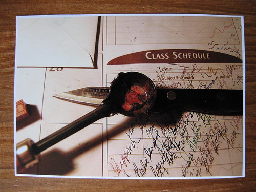 Step-by-step photo tutorial on using sealing wax, step 4
