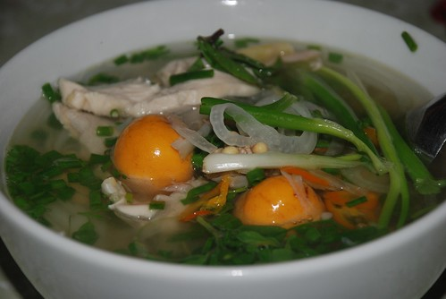 pho ga with extras