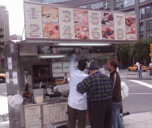 Columbus Circle Crepe Cart