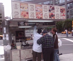 Columbus Circle Crepe Cart