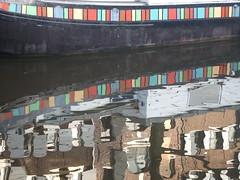 DSCF2225 (CorinneZ) Tags: amsterdam canal reflet pniche