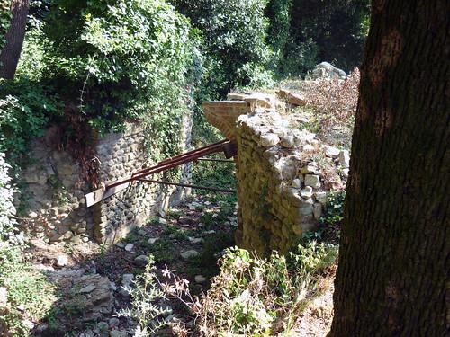 cascine di Tavola_ponti in stato di rudere sul viale dei Lecci