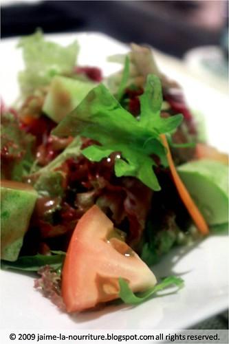 Blue Basil - salad