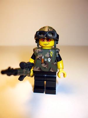 ZH One Shot One Kill custom minifig