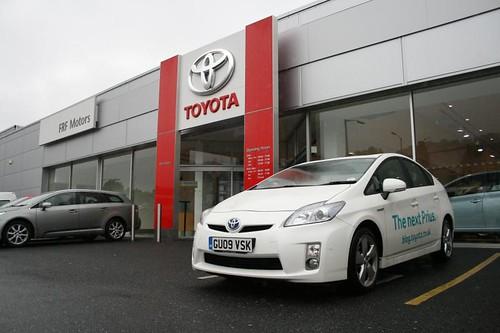 2009 Toyota Prius test drive