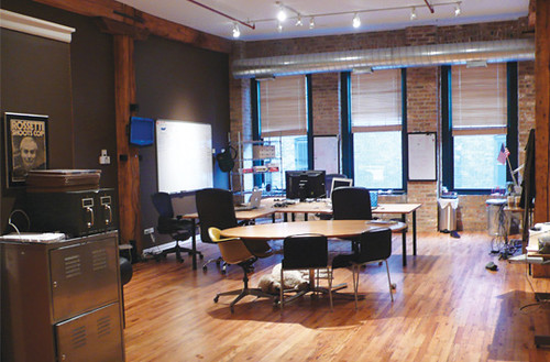 coop - coworking site in chicago