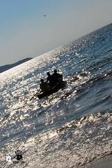 PESCADORES (Roney Rodrigues) Tags: sea praia beach boat mar barco playa portobelo bombinhas cantogrande
