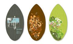 Four Skimboards; group 3 (tgambrill) Tags: illustration screenprint skimboard timgambrill