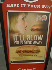 Burger King: It'll Blow Your Mind Away (Shiny Things) Tags: sex advertising singapore ad advertisement wrong burgerking innuendo phallic blowjob badtaste poortaste entendre soverywrong singleentendre
