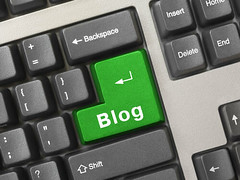 Blog, Blogging keybord