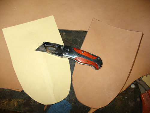 knife sheath start