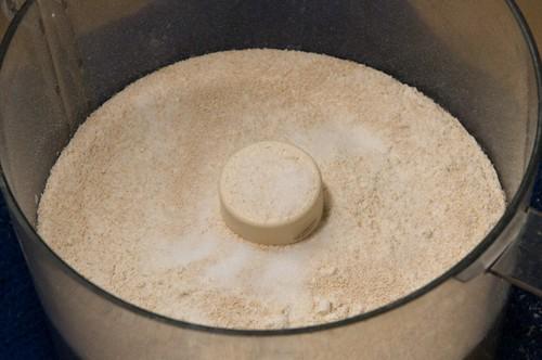yeast, salt, flour