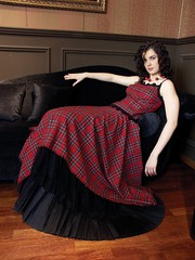 tartan evening dress (dunikowski) Tags: dress traje vestido kleid suknia sukienka dagnez