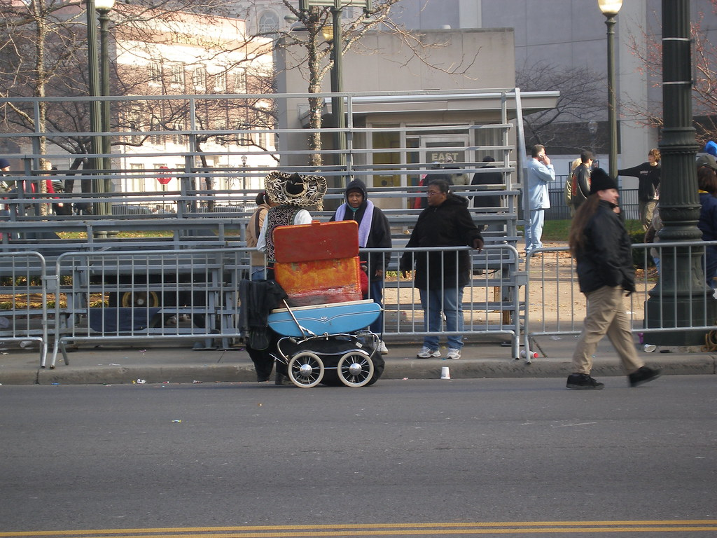 Baby carriage vendor